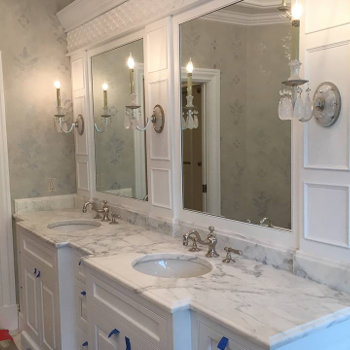 Our stone refinishing services in Baltimore, MD, for your bathroom.