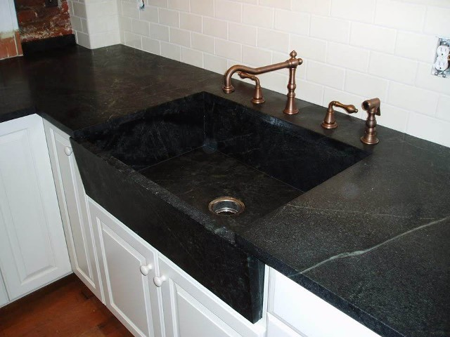 Solid stone countertop in Baltimore, MD.